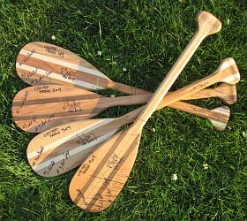 Phantom Lake Paddle Girls Signed Mini-Paddles